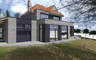 Extension et rénovation d'une habitation individuelle à LIERAMONT