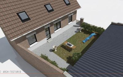 Réhabilitation d'une habitation individuelle à RUYAULCOURT