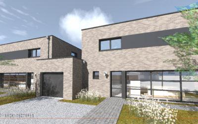 Construction de deux habitations individuelles à MOUVAUX