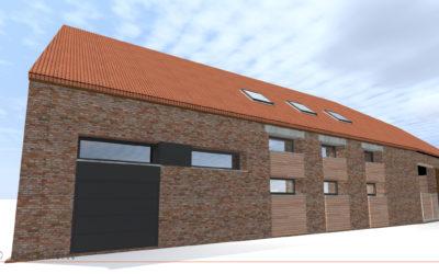 Transformation d'une grange en habitation individuelle à INCHY EN ARTOIS