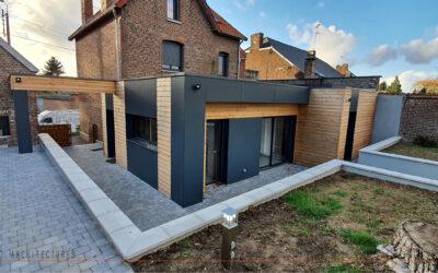 Extension et rénovation d'une habitation individuelle à AVESNES-LES-AUBERT