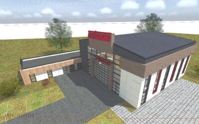 Construction d'un showroom avec salles de réunions à EPEHY