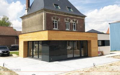 Extension et rénovation d'une habitation individuelle à HEUDICOURT