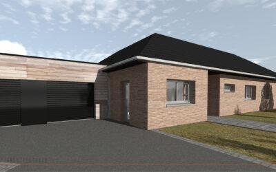 Construction d'une habitation individuelle à THUN L'EVEQUE