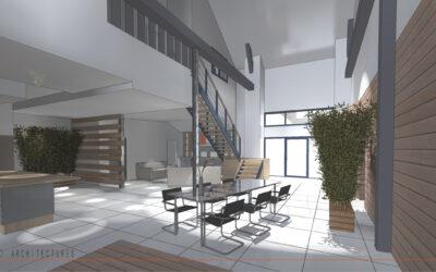 Transformation d'une grange en habitation individuelle à RIEUX-EN-CAMBRESIS