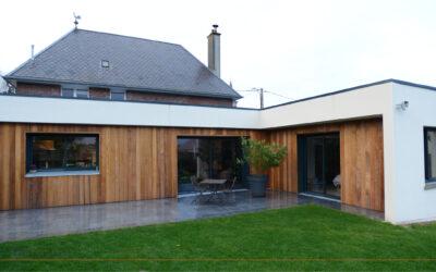 Extension et rénovation d'une habitation individuelle à GOUZEAUCOURT