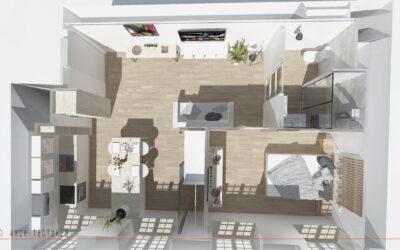 Aménagement de 6 appartements au sein d'une résidence à CAMBRAI