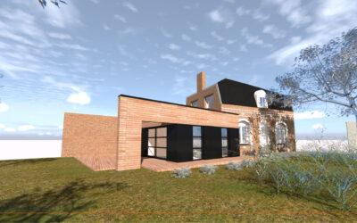 Extension et rénovation d'une habitation individuelle à LIGNY-EN-CAMBRESIS
