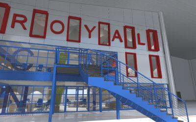Construction de bureaux au sein d'une usine à LES-RUES-DES-VIGNES