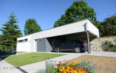 Construction d'un garage avec atelier à BANTOUZELLE