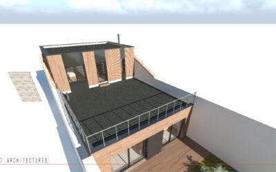 Extension et rénovation complète d'une habitation individuelle à CAMBRAI