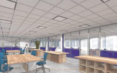 Aménagement de bureaux à CAMBRAI
