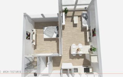 Aménagement d'un appartement au sein d'une résidence à CAMBRAI