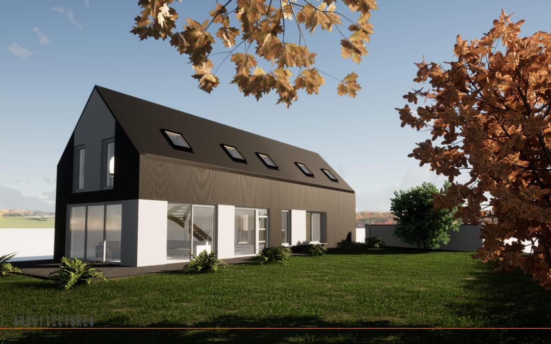 Extension et rénovation d'une habitation individuelle à NEUVILLE-SAINT-REMY